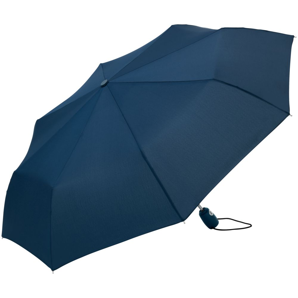 Зонт складной AOC, синий