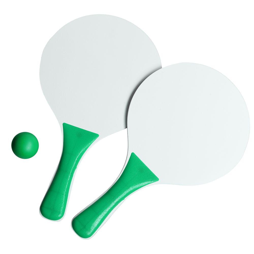 Набор для игры в пляжный теннис Cupsol, зеленый